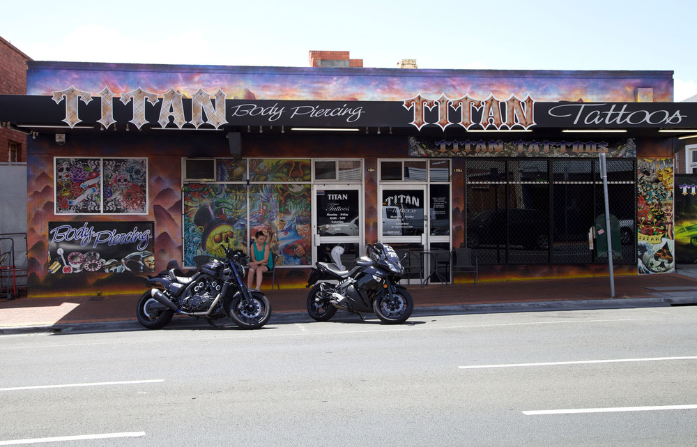 Titan Tattoos. Moonah, Tasmania.