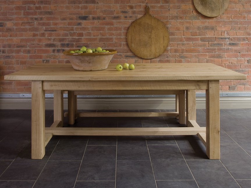 Or you might prefer this oak table from Indigo Furniture with prices from around £1,500