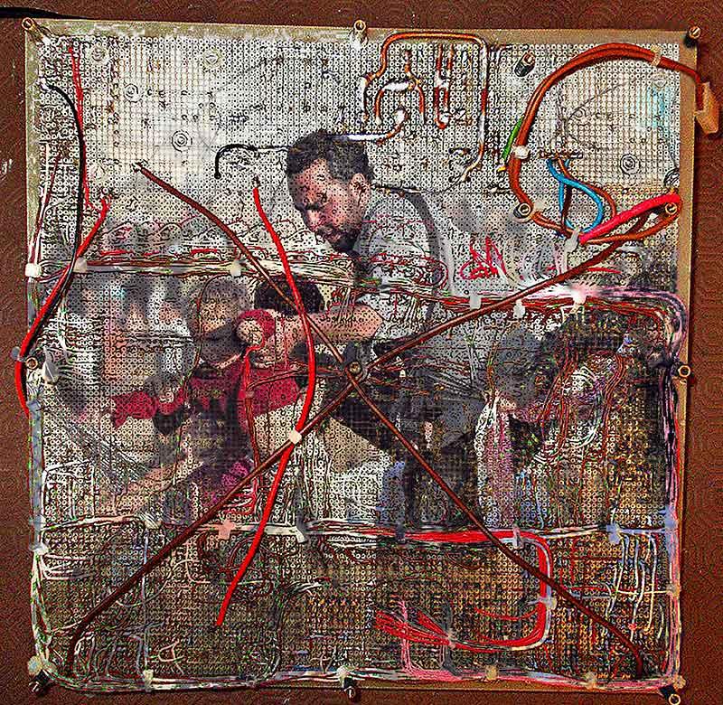 Syrian Loom, 2017. Digital print