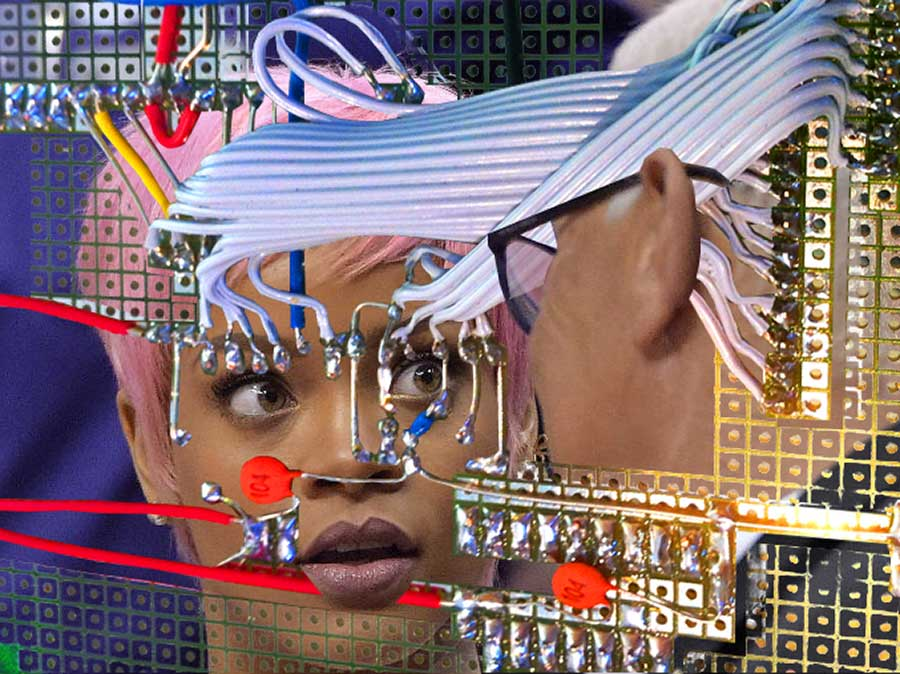 The Shocking Conversation (Rihanna), 2017. Digital image for print (edition to be determined)