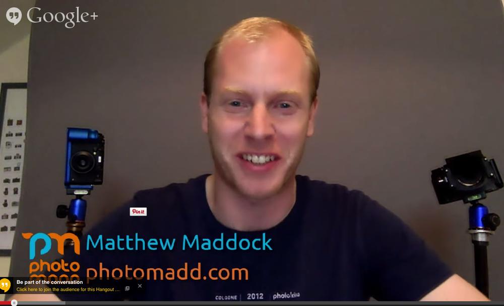 Matthew Maddock.