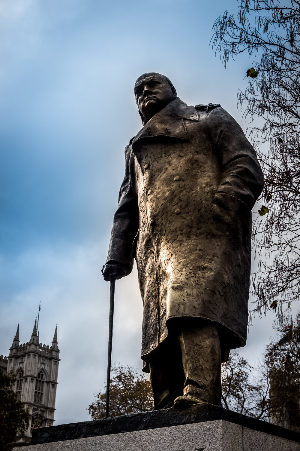 Our very own - leader - Sir Winston Churchill
