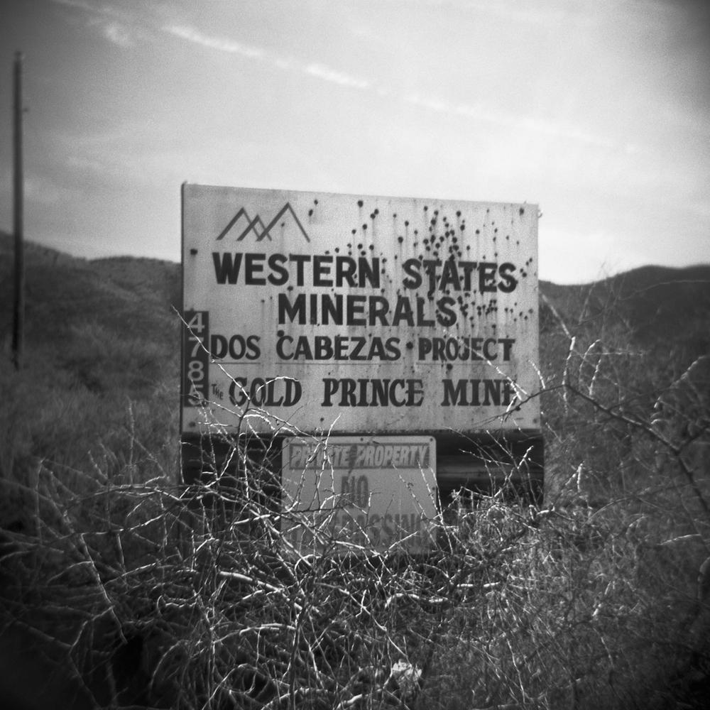 Gold Prince Mine, Dos Cabezas. 2005.