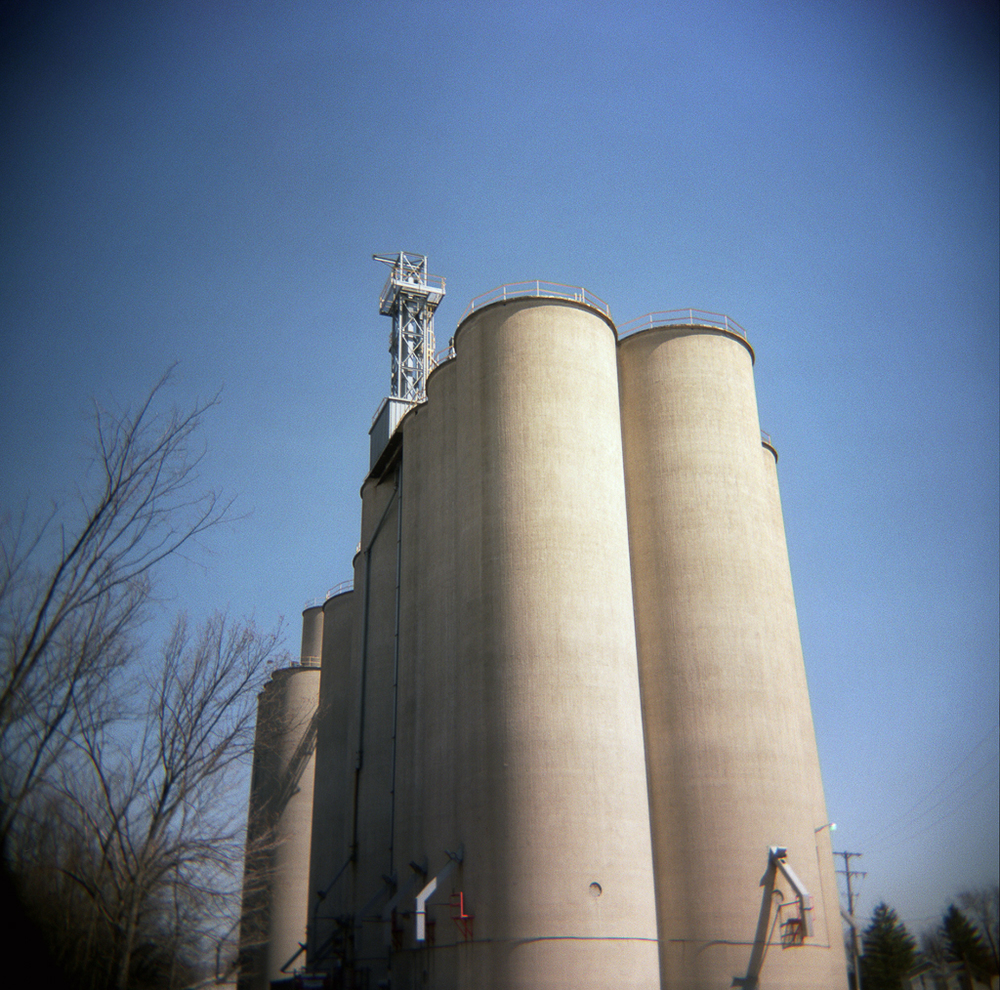 Silo, Metamora, Ohio. 2003.