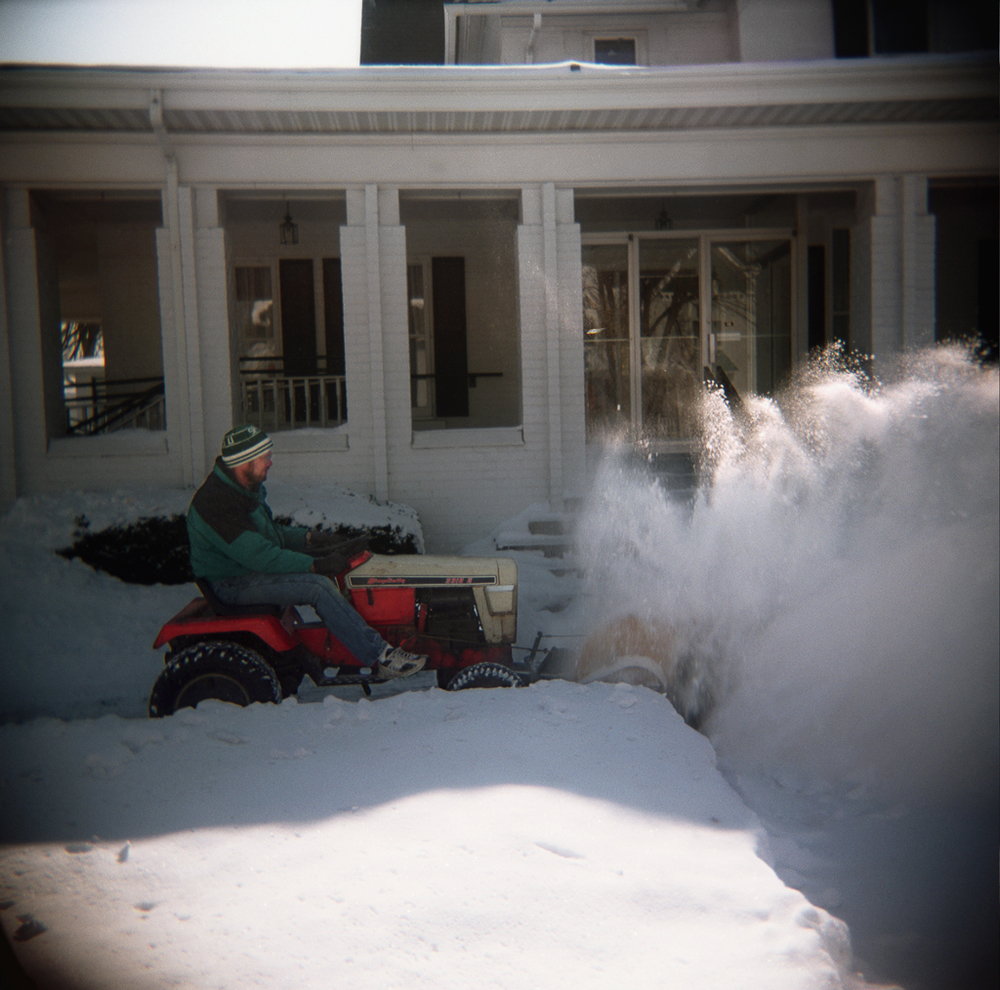 Snow Blower, Chelsea, Michigan. 2003.