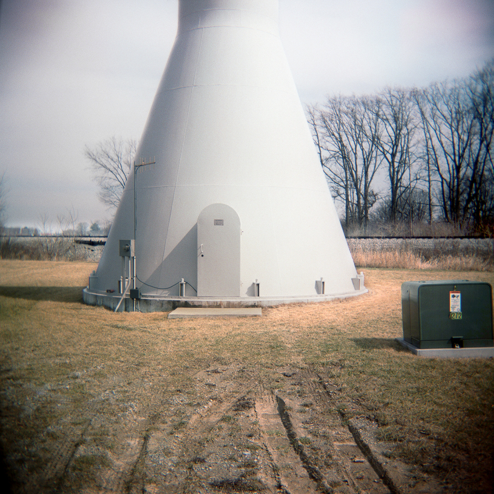 Tower Base, Adrian, Michigan. 2003.