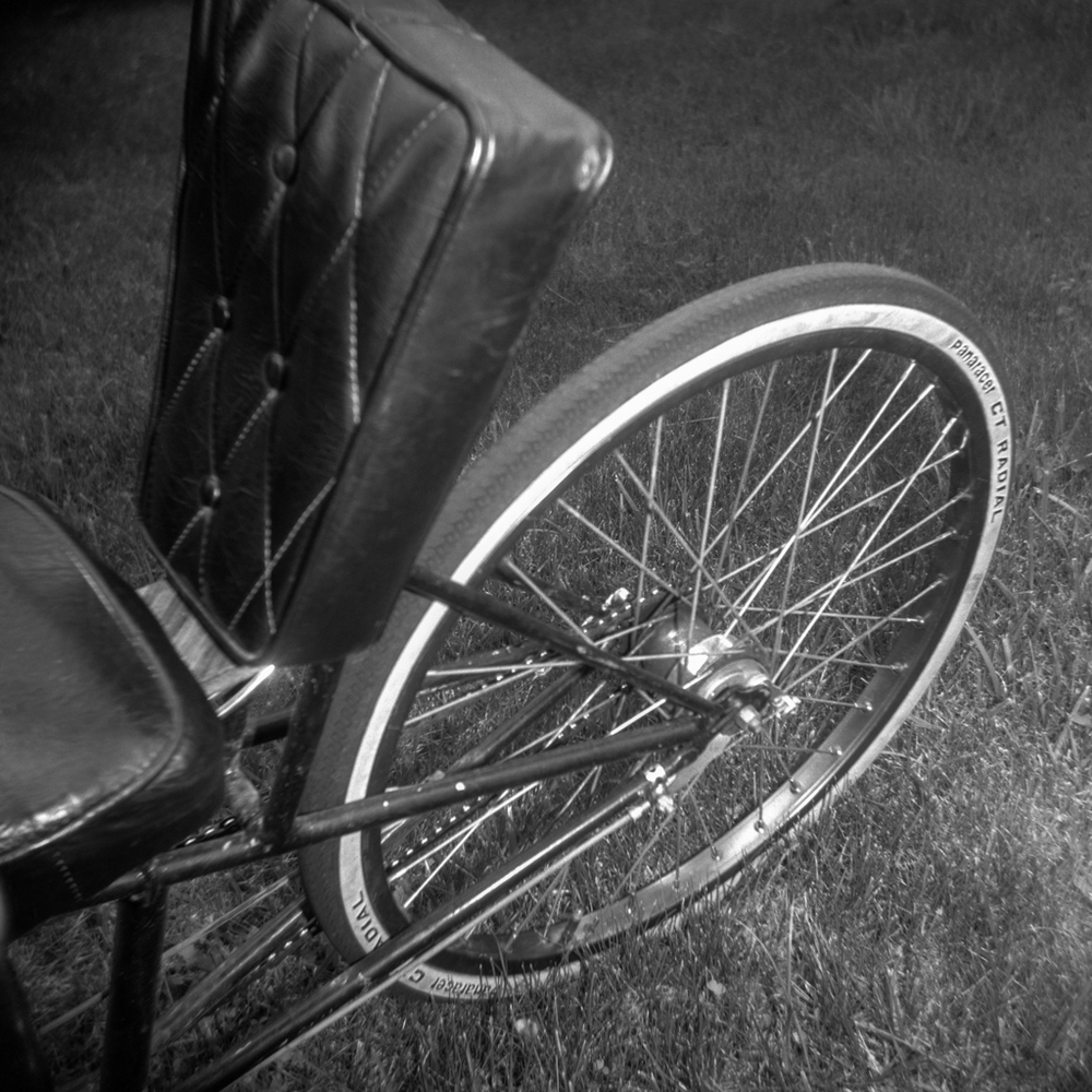 Grove Dow's Recumbent, Los Alamos, New Mexico, 1996.