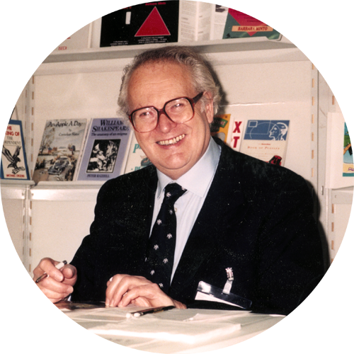 Founder Peter Knight at The Frankfurt Bookfair