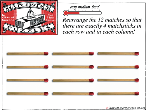 Matchstick Puzzle: 001