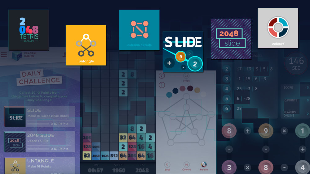 A platform for original & handsome IQ puzzles & games. -