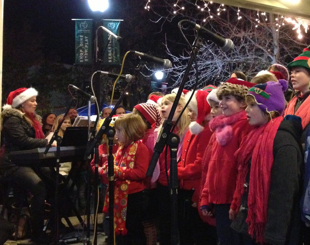 2013 Sebastopol Tree Lighting Ceremony