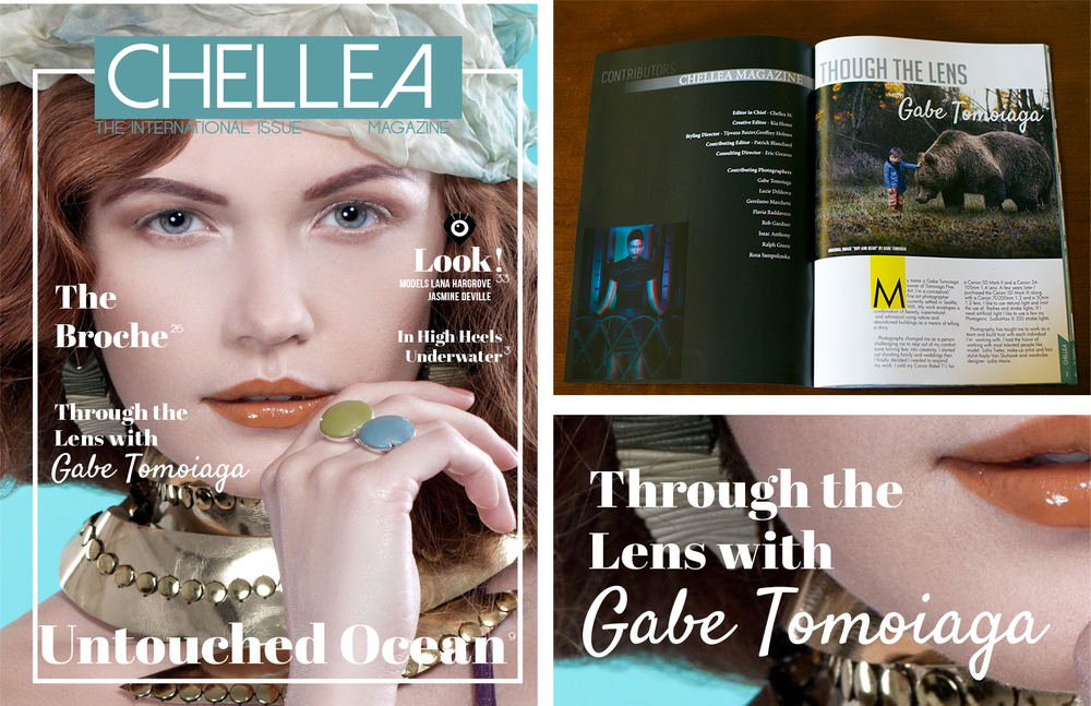 Chellea Magazine 2015  http://www.magcloud.com/browse/issue/924687?__r=165214 Title: Innocence Tames the Beast