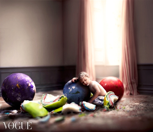 VOGUE Italia-2015 Title: Sugar Crash-Little Sweet Tooth