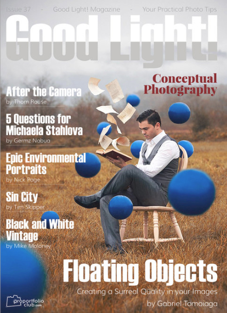 Cover of Good Light Magazine - https://www.goodlightmag.com/