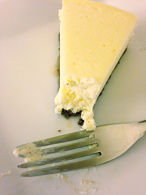 Vanilla Bean Cheesecake!