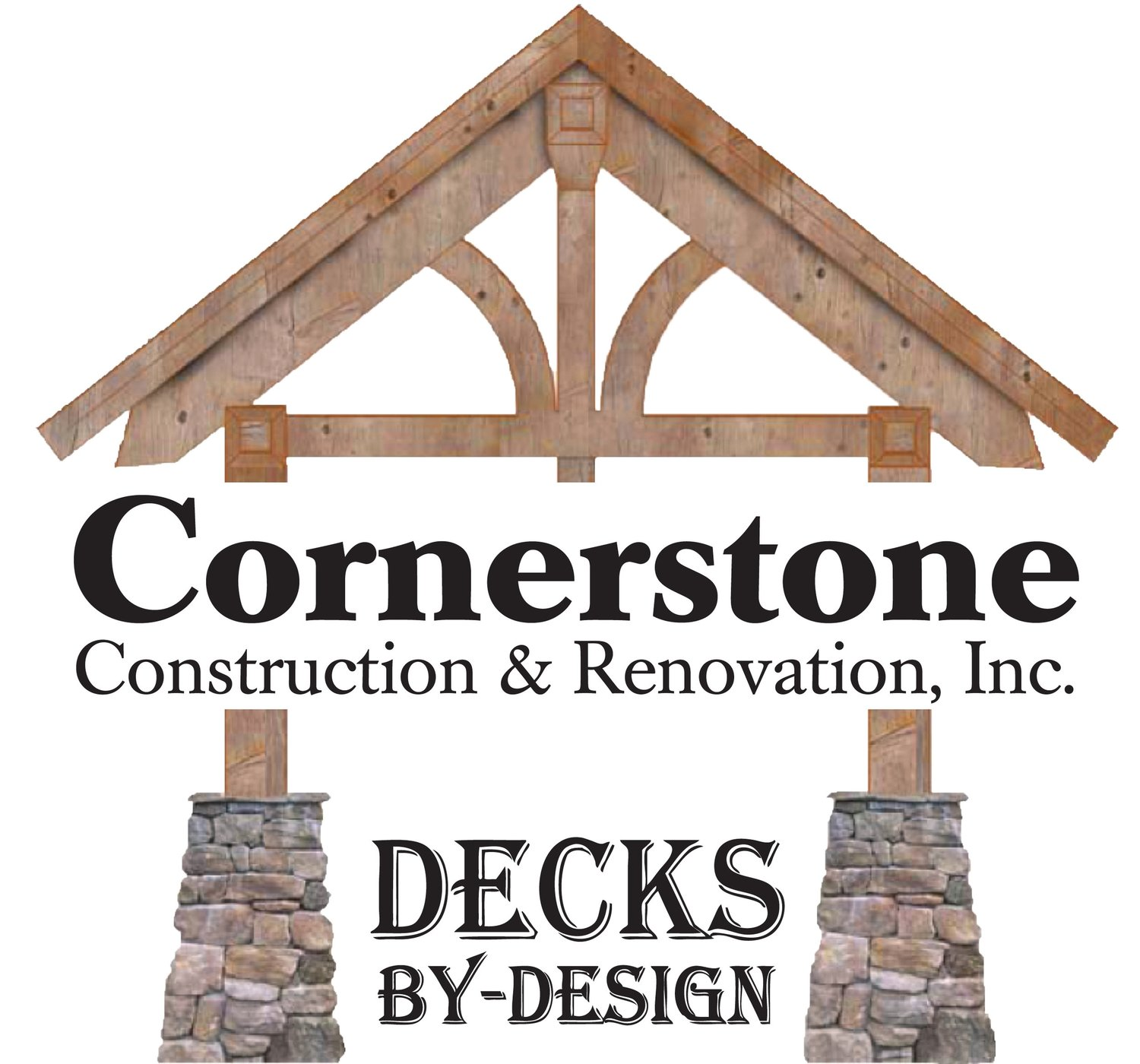 Cornerstone construction renovation inc decks by design for Cornerstone design