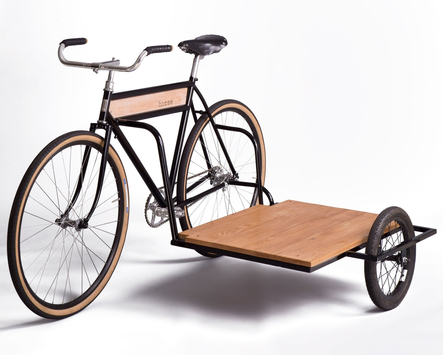 side car bicycle surf work horse