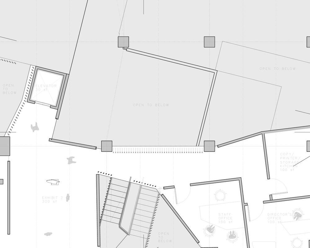 NOGUCHI MUSEUM ANNEX  INTERIOR DESIGN
