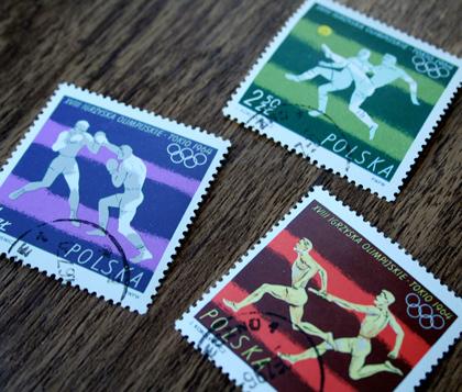 PolishStamps_Olympics1964