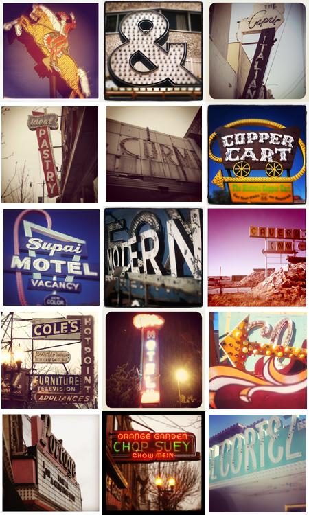 2012 Vintage Signs