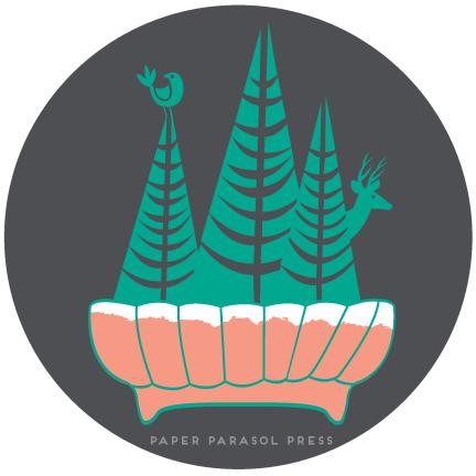 Mini Forest Illustration