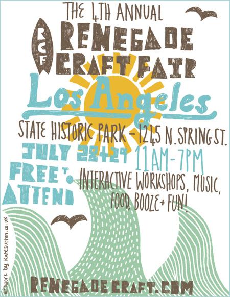 Los Angeles Renegade Craft Fair 2012