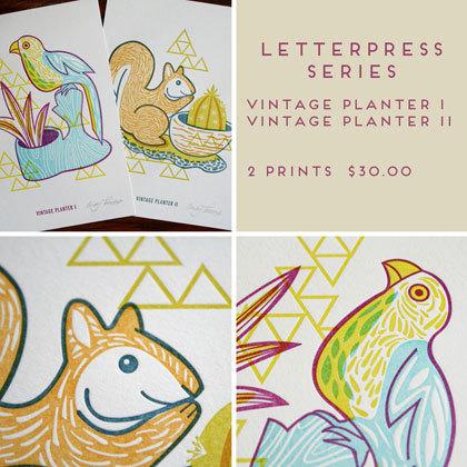 Vintage Planter Series