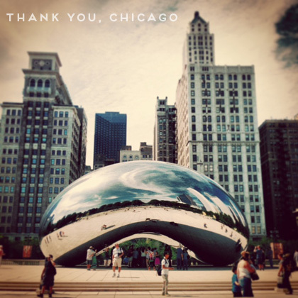 Cloud Gate Chicago | Paper Parasol Press