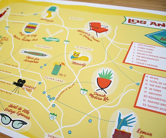 LA Map details