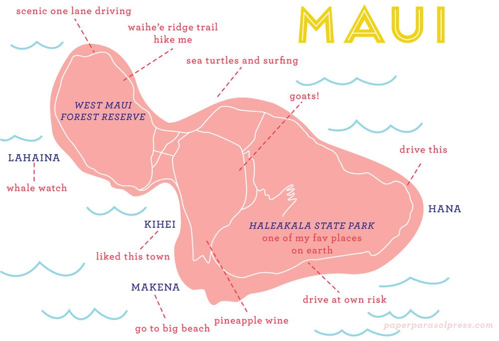 Maui | Paper Parasol Press