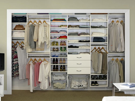 Tile · window treatments · custom closet systems