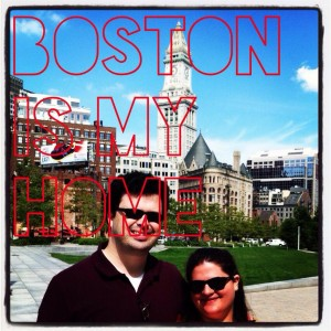 Boston in my home