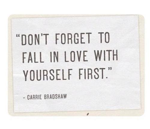 Fall in love first