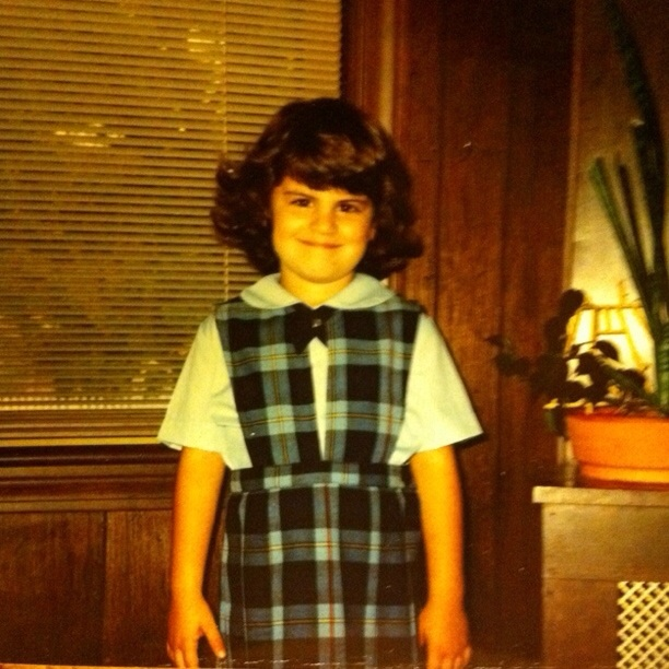 First day of school (age 6)