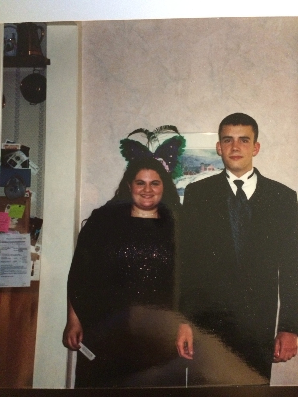 Senior Prom, finding that dress was a nightmare (age 17)