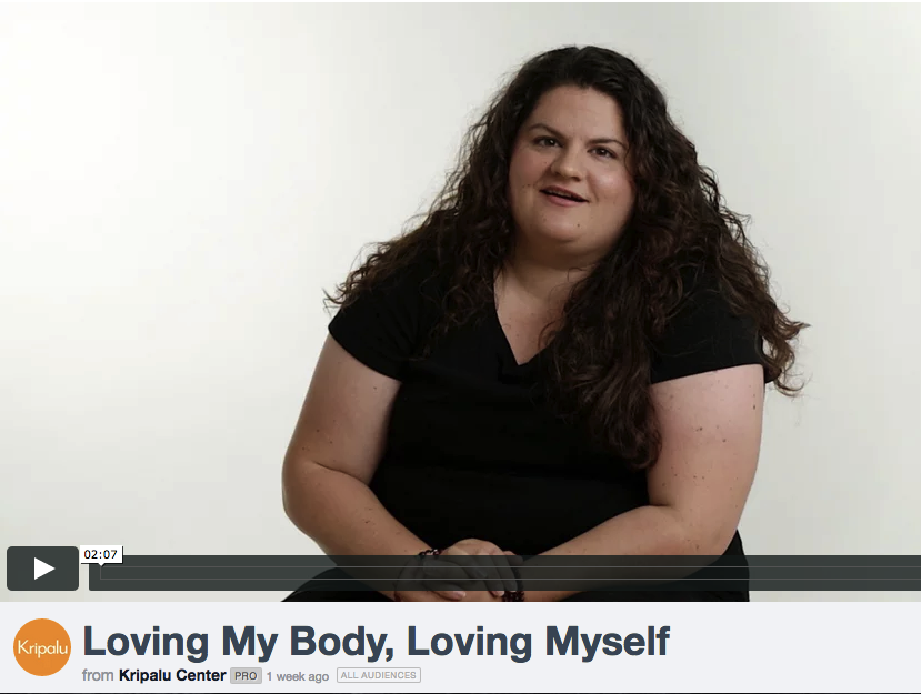 Click to watch my piece on yoga & body-image from Kripalu Center for Yoga & Health