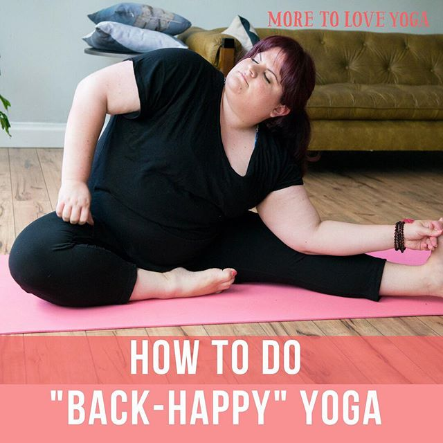 Fun (?) facts: ⠀⠀⠀⠀⠀⠀⠀⠀⠀ For years, I suffered from debilitating lower back and hip pain. It was so severe, there'd be days that I couldn't leave my bed. ⠀⠀⠀⠀⠀⠀⠀⠀⠀ And because I was foolishly doing yoga in a way that was NOT good for my back, I'd end up feeling WORSE after many classes. ⠀⠀⠀⠀⠀⠀⠀⠀⠀ Teachers didn't even make little suggestions on how to protect the back. And that's one of the (many) flaws of yoga... ⠀⠀⠀⠀⠀⠀⠀⠀⠀ OK SO NOW...I've not had a SINGLE back flair up for 3 years. THREE YEARS. ⠀⠀⠀⠀⠀⠀⠀⠀⠀ And I credit this 100% to learning how to not be a JERK to my back in yoga class (and well, off my mat too!) ⠀⠀⠀⠀⠀⠀⠀⠀⠀ It's the most common pain with my yoga students..MY BACK HURTS. ⠀⠀⠀⠀⠀⠀⠀⠀⠀ And I've learned a lot about how to make sure yoga is a good place for your body (and backside!) ⠀⠀⠀⠀⠀⠀⠀⠀⠀ So this weekend, we're talkin' about and movin' our BACKS - ⠀⠀⠀⠀⠀⠀⠀⠀⠀ --- How to do forward folds so you do not put any strain or pinching on your back ⠀⠀⠀⠀⠀⠀⠀⠀⠀ ---How to use your butt and legs to make sure your back is safe ⠀⠀⠀⠀⠀⠀⠀⠀⠀ ---And my favorite...how to let your back muscles RELAX and soften more easily. ⠀⠀⠀⠀⠀⠀⠀⠀⠀ So come and join for some good back yoga #moretoloveyoga . . . . . #SelfiesForSelfLove#bodylove#yoga#plussizeyoga#curvyyoga#bodypositve#bodypositiveeveryday#effyourbeautystandards#sizedoesntmatter#celebratemysize#lovemyshape#bodyposi#pizzasisters4lyfe#celebratemysize#weightloss#fitfam#nutrition#nobodyshamecampaign#yoga#curvyyoga#boston#cambridge#somerville#yogaboston