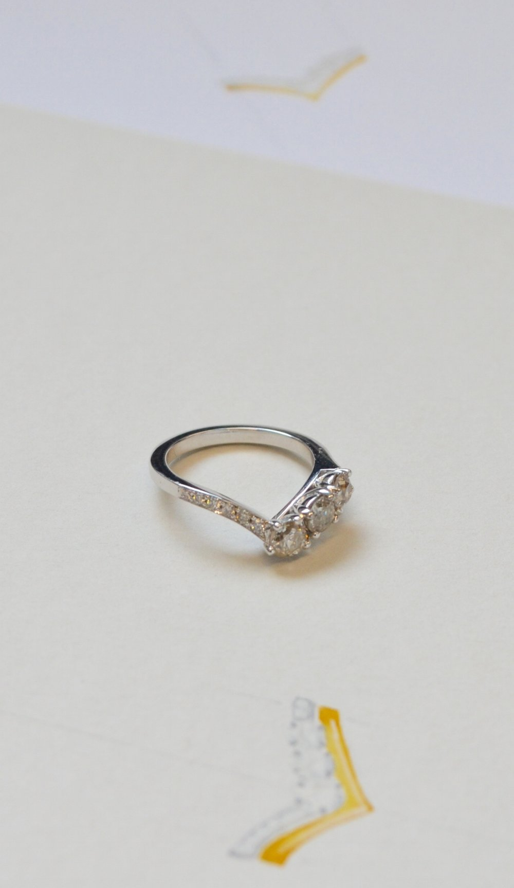 "Spanner & Wingnut ""Jo"" Ring"