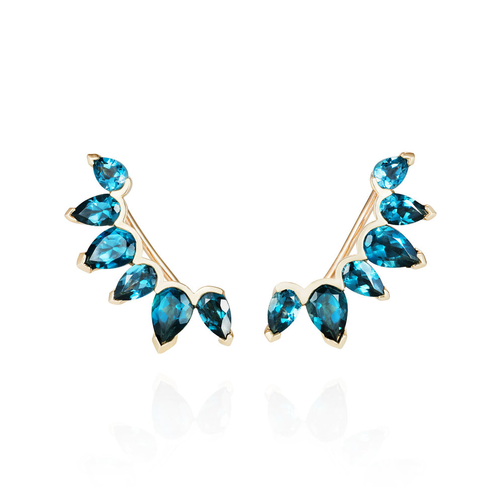 "Spanner & Wingnut ""Cassiopeia"" Ear Climbers 