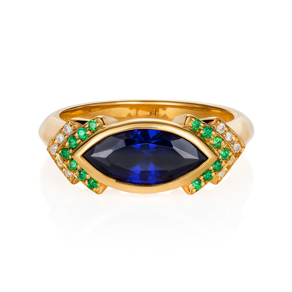 "Spanner & Wingnut ""Marrakech"" Engagement Ring 