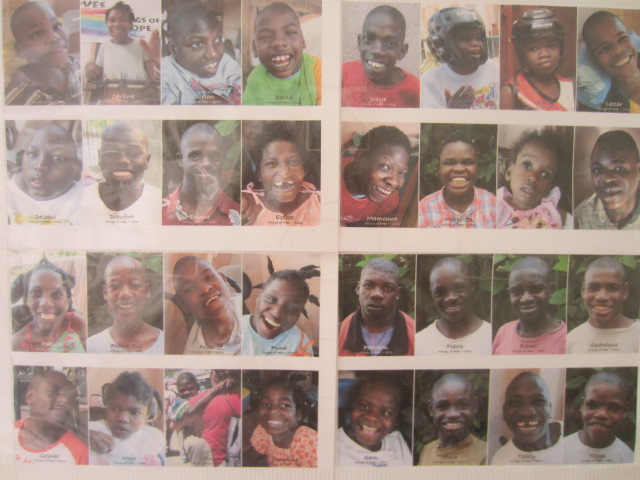 How many of these children from Wings of Hope have you met?  How many can you name (without cheating!)?