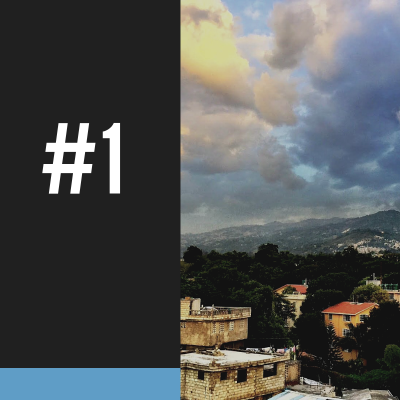 #1 - Since the World Bank began keeping its Most Fragile States list, Haiti has been a fixture on it.HTF IS WORKING TO GET HAITI OFF THAT LIST.