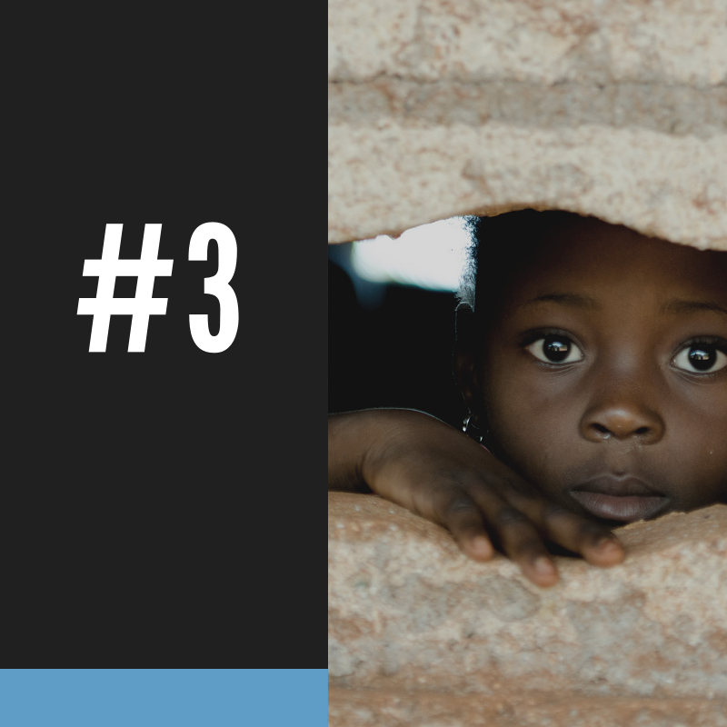 #3 - There are 300,000 restaveks (child slaves) in Haiti mainly because of parents who are too desperately poor to raise their own children.BY ERADICATING THE WORST KIND OF POVERTY IN THE CENTRAL PLATEAU AND BY UNITING THE MOST VULNERABLE CHILDREN IN THE JACMEL AREA WITH EXTENDED FAMILIES, HTF IS REDUCING CHILD TRAFFICKING.