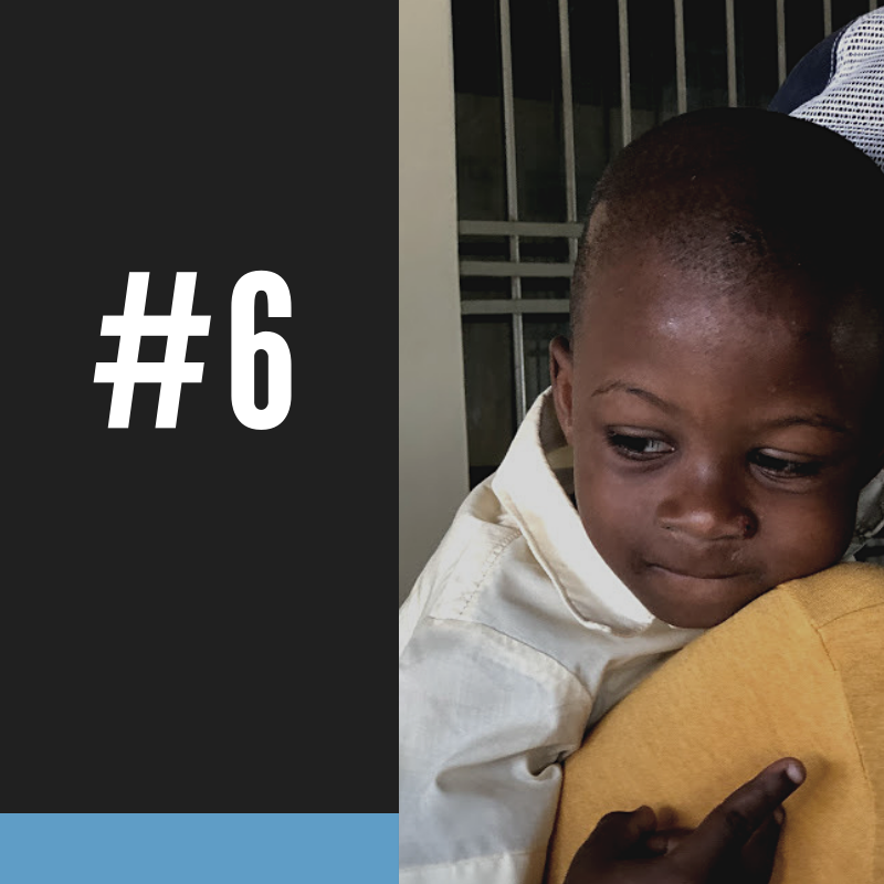 #6 - Haiti's child mortality and maternal mortality rates are the highest in the Western Hemisphere because of lack of access to clean water.ALL HTF-SPONSORED CLM MEMBERS IN THE CENTRAL PLATEAU AND THOUSANDS OF FAMILIES IN THE SOUTHEAST DEPARTMENT HAVE ACCESS TO CLEAN WATER.