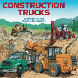 From dump trucks to concrete mixers, from payloaders to cranes--lots of trucks are needed at construction sites.