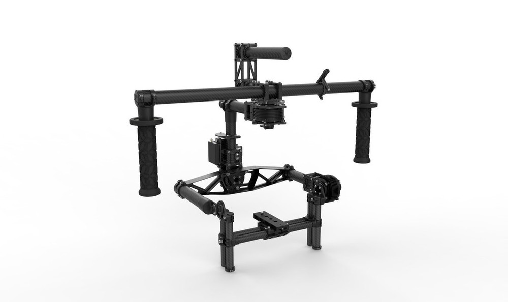 Freefly  MōVI M10 - top of the line handheld and mounted 3-axis stabilizer.