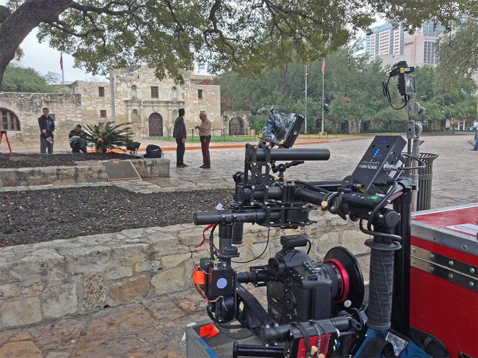 Remember the Alamo! Our Movi M10 in San Antonio, TX.