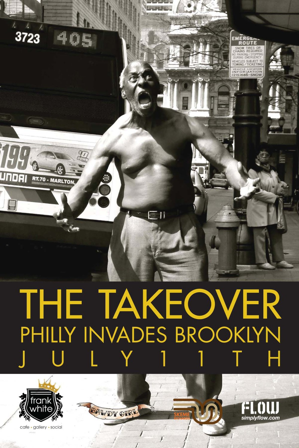 Frank White :: Philly invades Brooklyn