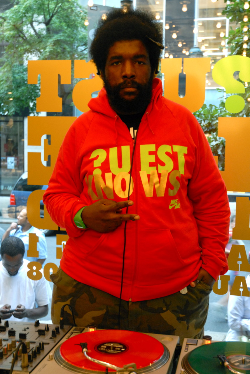 QUEST LOVE::::UBIQ::PHILADELPHIA. 2009