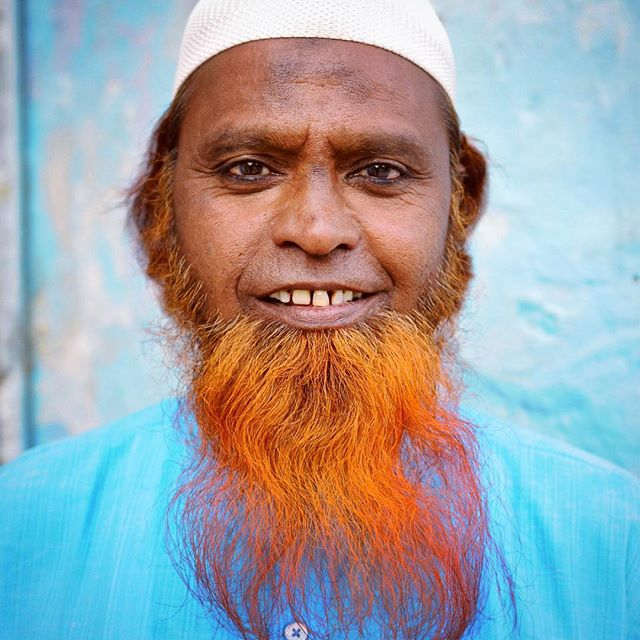 India • 2012 #India #indian #culture #tradition #document #diversity #people #perspective #streetart #streetportrait #photography #nikon #streetphotography #blue #photojournalism #nemaetebar #beard #henna #muslim #eyes #faces #seek #soul #smiles #igers